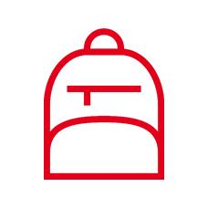 Рюкзаки школьные каркасные