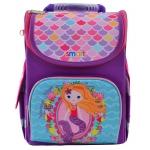 "Рюкзак школьный каркасный Smart PG-11 ""Mermaid"""