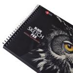 Альбом с черной бумагой SANTI, А5 , 32 л., 150 г/м2
