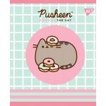 Тетрадь А5 12 Кос. YES Pusheen Sweet Cat