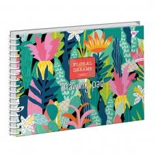 Альбом для рисования А4 20 Yes Спираль Tropical Paradise