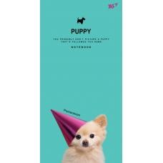 """Блокнот 100*200/64 ЛИН. интег. """"Puppy """" YES"""