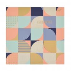 Блокнот 200*200 96 Кл. YES 7БЦ Abstract
