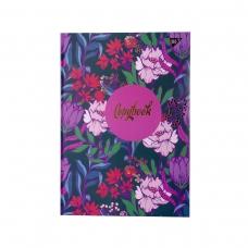 Блокнот А4 96 Кл. YES 7БЦ Flower