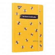 "Планер YES недата укр. ""Bee Brave"", интегр., 197*145мм, 192 стр, стикеры"