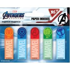 """Индексы бумажные YES """"Marvel.Avengers"""", 50x15мм, 100 шт (5x20)"""