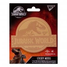 "Бумага с липким слоем YES фигурная ""JURASSIC WORLD.Dangerous Dino"", 40 лист"