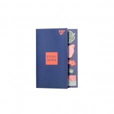 """Бумага с липким слоем YES """"Vivere"""", в наборе, 8х20 листов"""