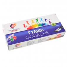 "Гуашь ""Классика"" 12 цв. 20 мл (блок-тара) 21С1376-08"