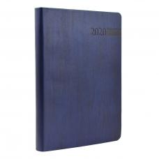 """Ежедневник А5 дат. """"Eterno"""", мягк., PU, 352 стр., темно-синий"""