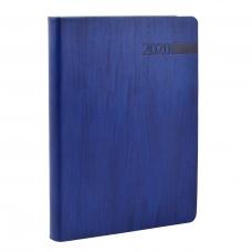 "Ежедневник А5 дат. ""Eterno"", мягк., PU, 352 стр., синий"