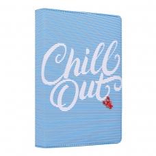 """Ежедневник А5 недат. YES """"Chill out"""", тверд., 432 стр., голубой"""