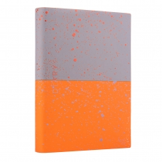 "Ежедневник А5 недат. YES ""Giovanni"", мягк., 432 стр., серый/оранжевый"