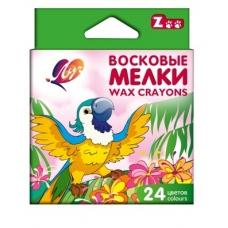 """Карандаш воск. шестигр. 24 цв. """"Зоо""""(""""Мини"""") (8*90) 12C866-08"""