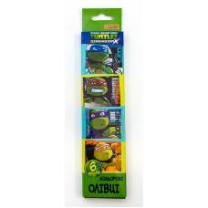 """Карандаши 6 цв. """"Ninja Turtles"""""""