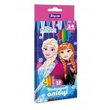 "Карандаши 1 Вересня 12/24 цв. ""Frozen"""