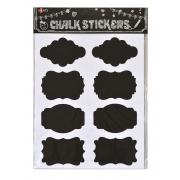 Меловый стикер-наклейка Santi 8шт/уп