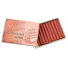 Сангина светлая в картонной коробке (10 шт.), Подольск-Арт.