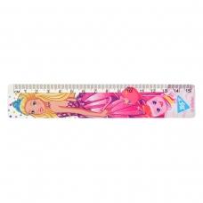 """Линейка YES 15 см """"Barbie"""""""