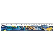 """Линейка YES 20 см """"Speed Car"""""""