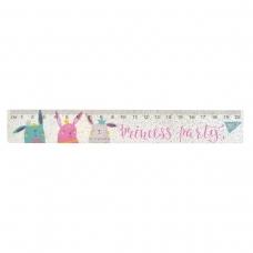 """Линейка 20 см """"Princess party"""""""