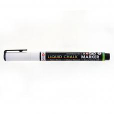Меловой маркер SANTI, белый, 8 шт/уп. 3 мм.