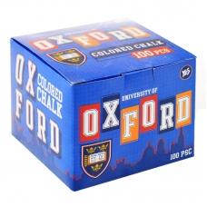 """Мел цветной квадратный 100 шт. """"Oxford"""""""