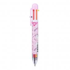 "Ручка шариковая YES ""Unicorn"", 1,0 мм, 6 цветов"