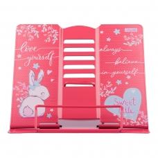 """Подставка для книг 1Вересня """"Bunny"""" металлическая"""