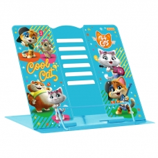 """Подставка для книг 1Вересня """"44 Cats"""" металлическая"""