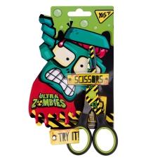 """Ножницы YES 13см, с принтом на лезвии """"Zombie"""""""
