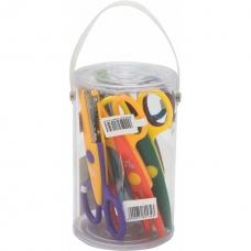Ножницы для творчества 1Вересня 13 см , (8 шт. в тубусе)