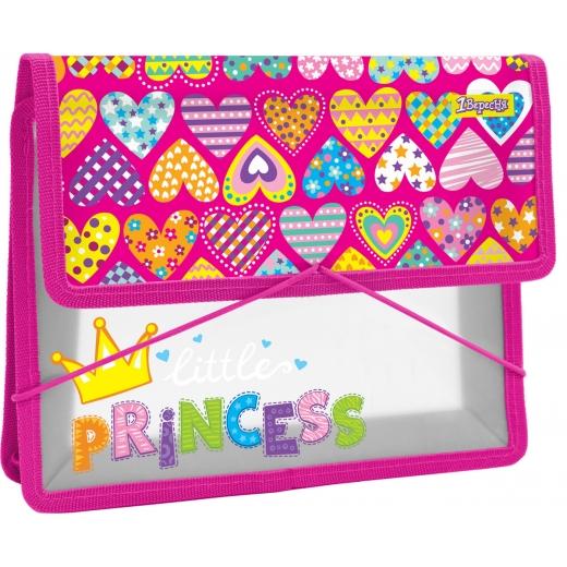 """Папка для тетрадей пласт. на резинке В5 """"Little Princess"""""""