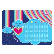 "Подложка для стола YES ""Rainbow"" табл.умнож."