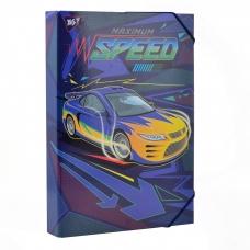 """Папка для труда YES картонная A4 """"Speed car"""""""
