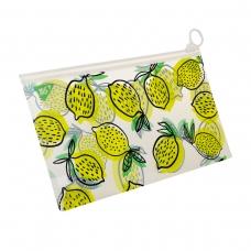 """Папка-конверт YES на молнии Check/Travel """"Citrus"""""""
