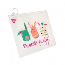 """Папка-конверт YES на молнии B6 """"Princess party"""""""