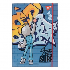"Папка для тетрадей YES картонная В5 ""SubSurf"""