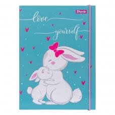 """Папка для тетрадей 1Вересня картонная В5 """"Bunny"""""""