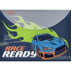 "Папка-конверт 1Вересня на кнопке А4 ""Street race"""