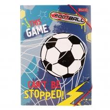 """Папка для труда 1 Вересня картонная A4 """"Team football"""""""