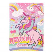 """Папка для труда YES картонная A4 """"Unicorn"""""""