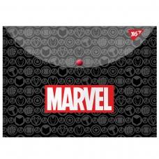 "Папка-конверт YES на кнопке А4 ""Marvel.Avengers"""