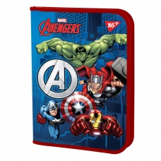 """Папка для тетрадей YES пласт. на молнии В5 """"Marvel.Avengers"""""""