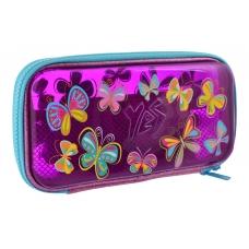 "Пенал твердый YES пластиковый 3D HP-07 ""Butterflies"""