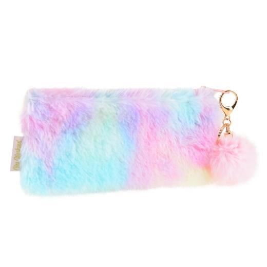 Пенал-косметичка YES  «Furry», розовая