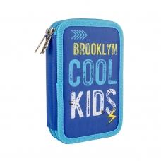 Пенал твердый SMART двойной HP-01 Cool Kids