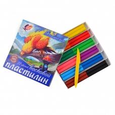 "Пластилин ""Фантазия"" 12 цв. 25С1523-08, со стеком"