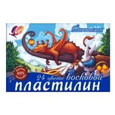"Пластилин ""Фантазия"" 24 цв. 25С1525-08, со стеком"