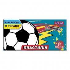 "Пластилин 1Вересня 6 цв. ""Team football"", Украина"